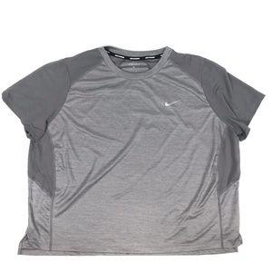 Nike Miler S/S Running Top - Extended Size
